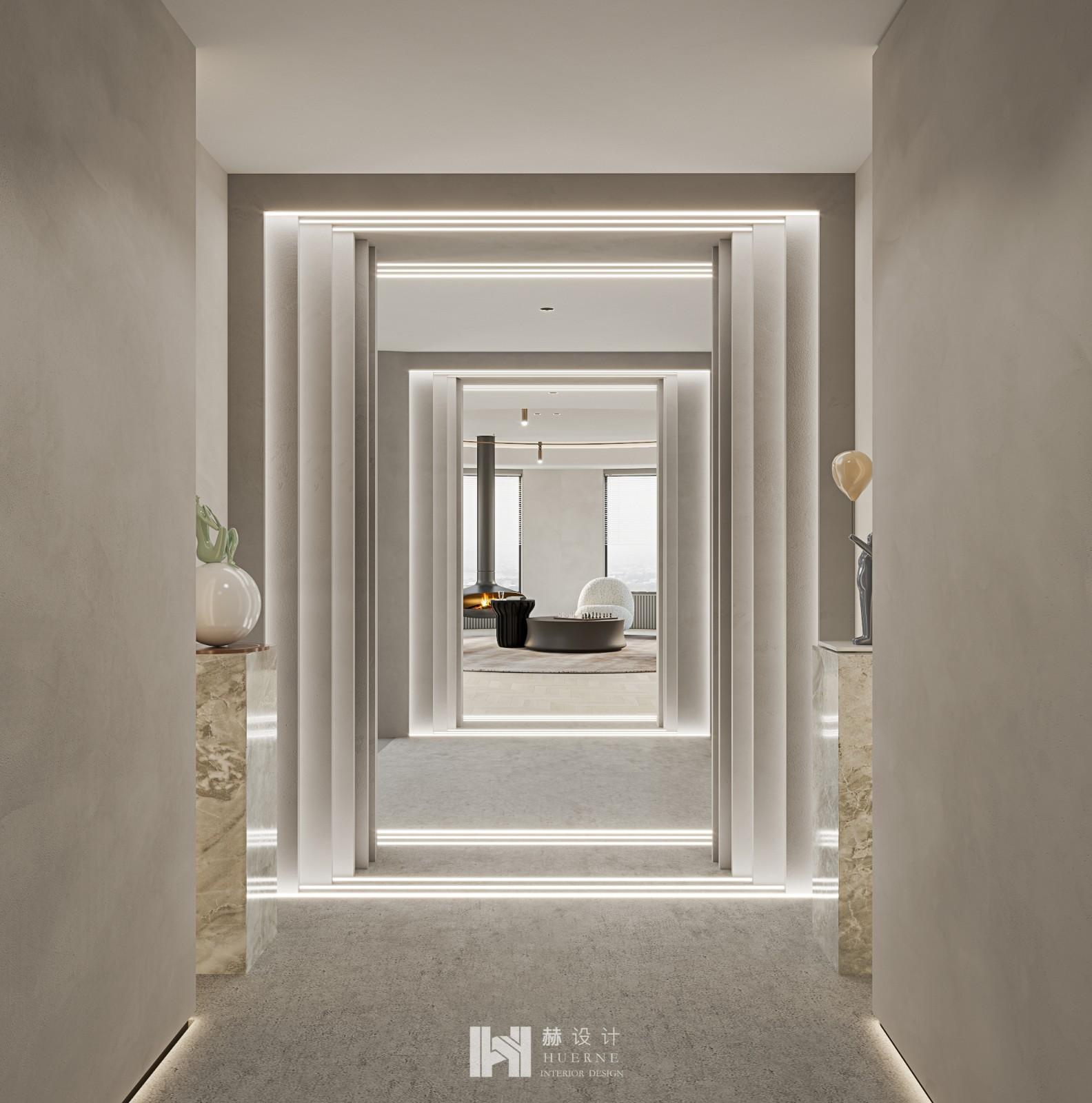 Huerne丨重塑空間關系,90後精英夫婦的傢通透又奢適!插图