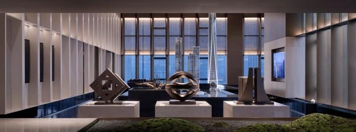 琚賓最新力作  重慶最高豪宅地標:江北嘴「國際金融中心A ONE」營銷中心插图6