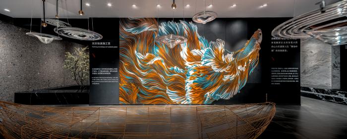 蔡祝源 新作|沉浸式體驗,構築美術館式的詩意展廳插图