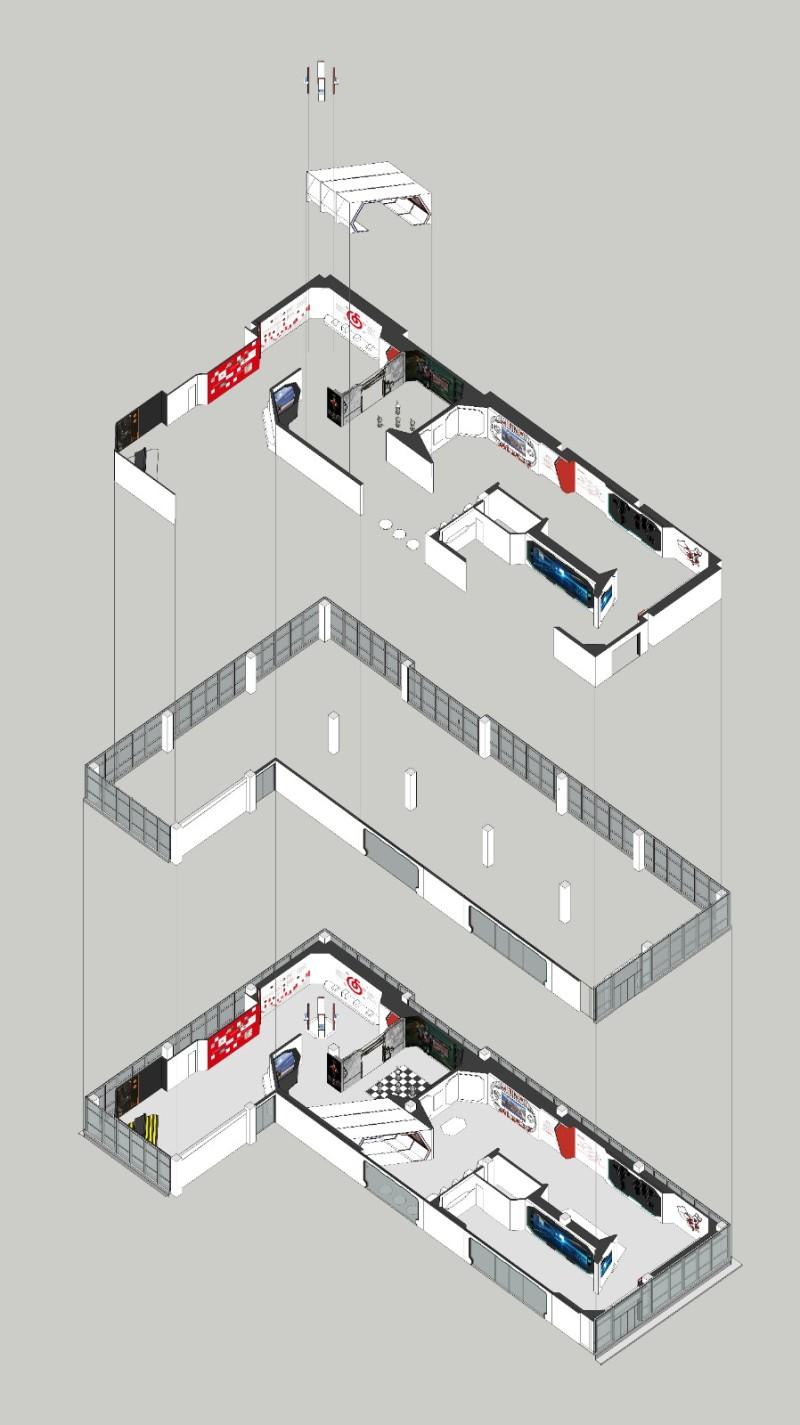 UOWAIN由問作品丨網易聯合創新中心上饒展廳插图1