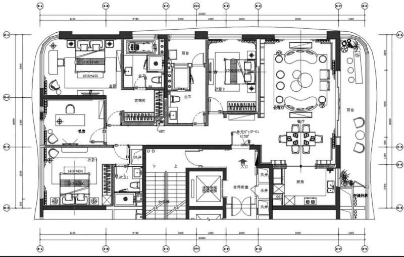 TTD廣州本至設計|珠江國際金融中心:新中式,古典與現代碰撞之樂章插图22