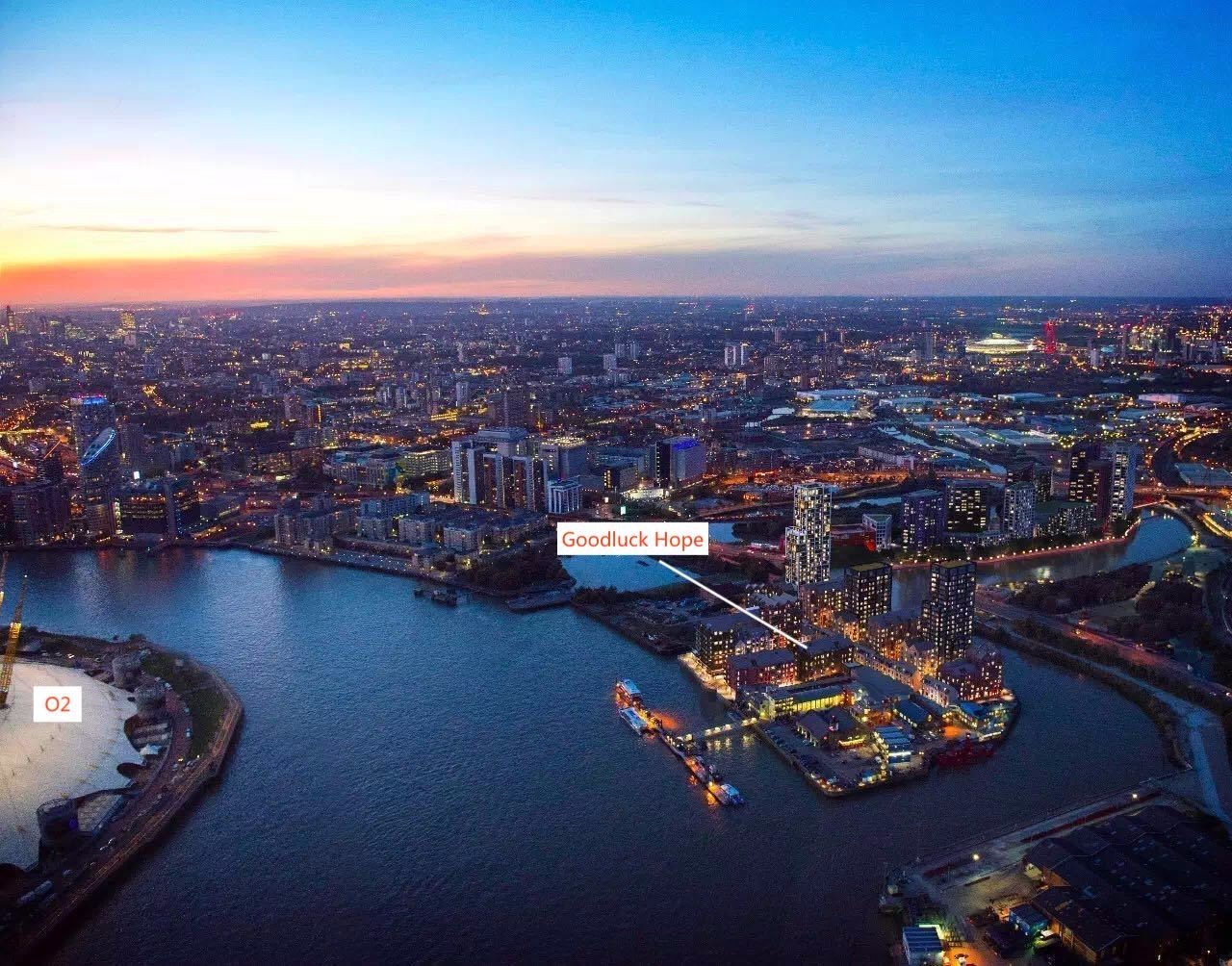 倫敦泰晤士河畔270° 濱水公寓丨首付僅¥17.8萬起插图1