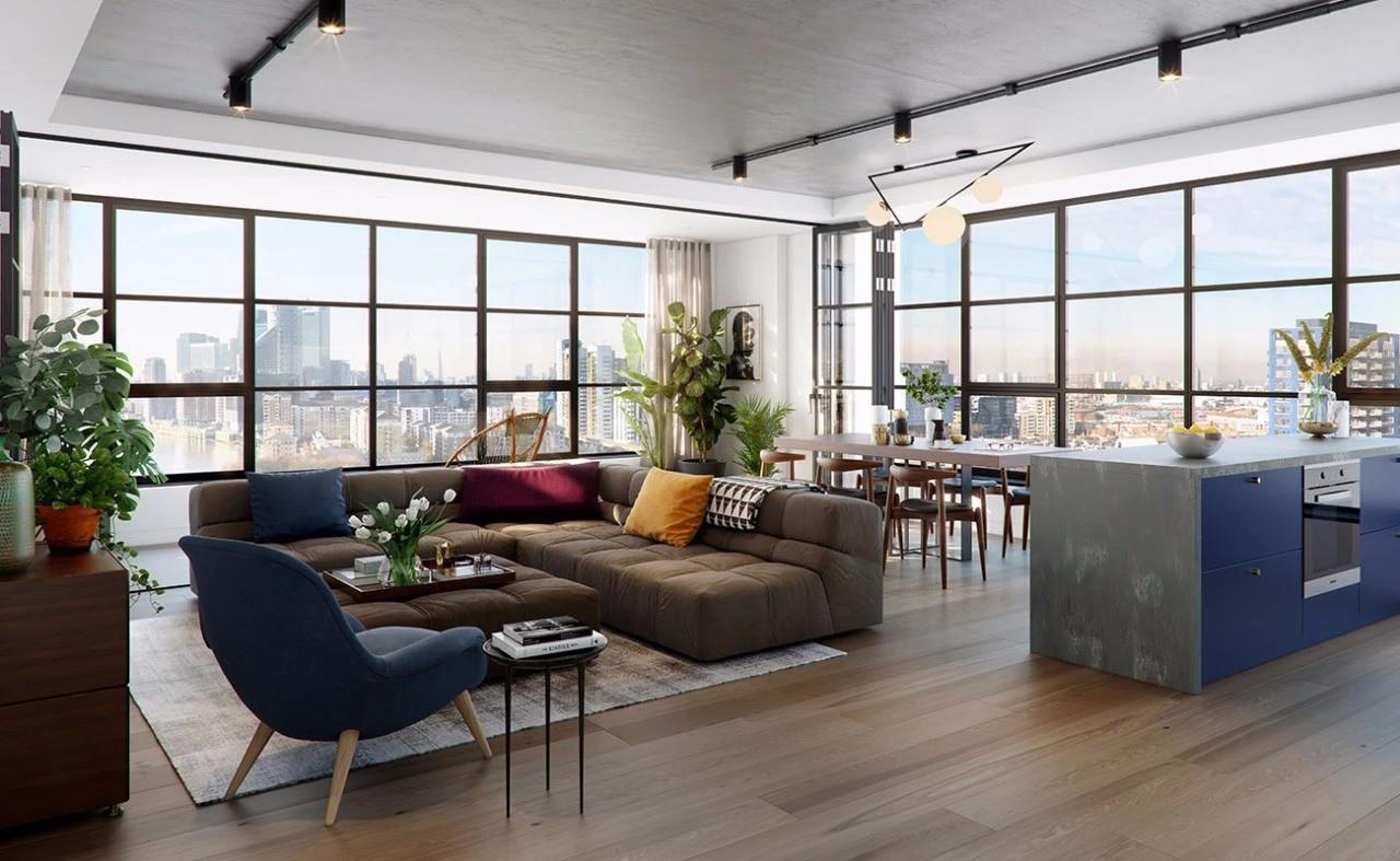 倫敦泰晤士河畔270° 濱水公寓丨首付僅¥17.8萬起插图18