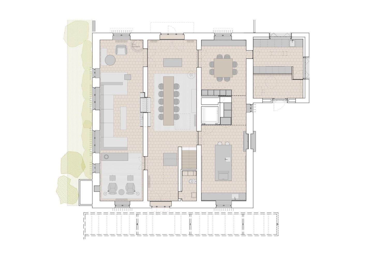 聖馬提住宅,金屬回廊平衡新與舊的關系 / Francesc Rifé Studio插图(24)
