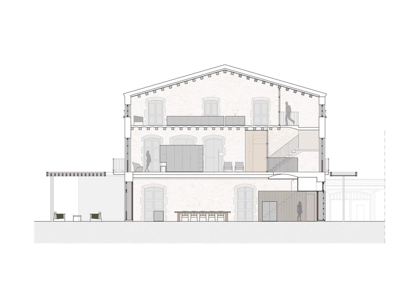 聖馬提住宅,金屬回廊平衡新與舊的關系 / Francesc Rifé Studio插图(25)
