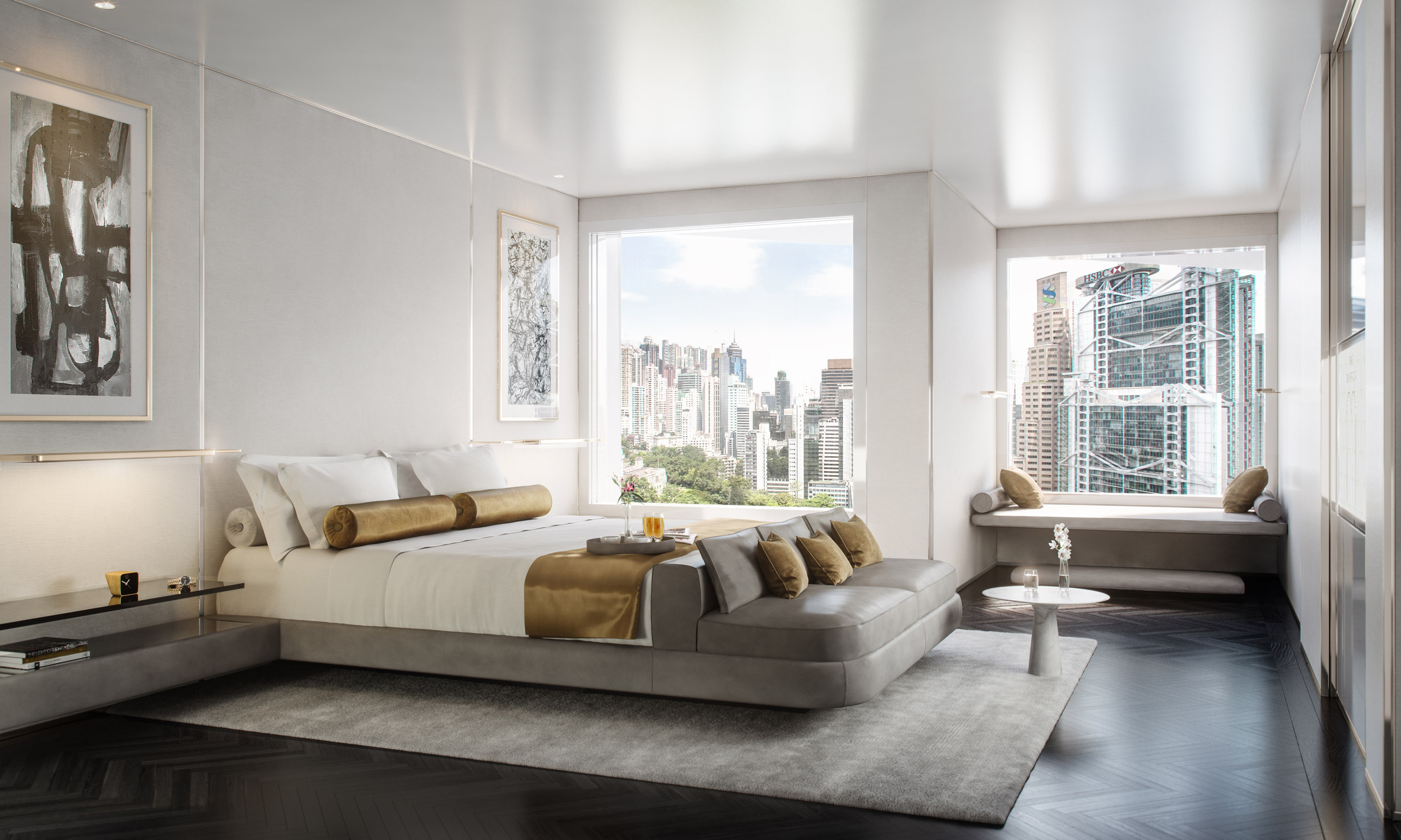 Foster + Partners converts Hong Kong office tower into high-end hotel插图(2)