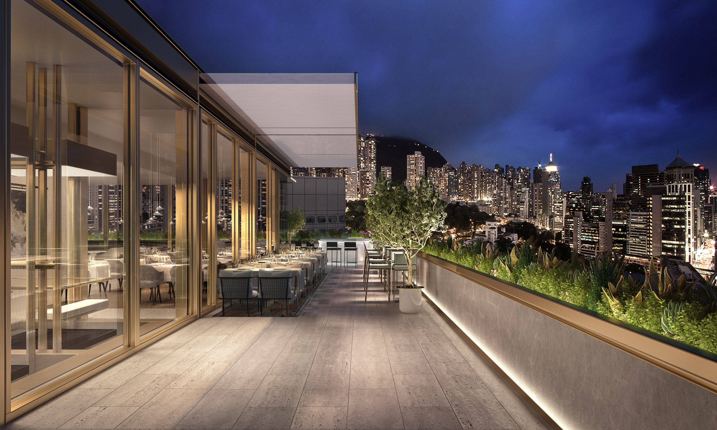 Foster + Partners converts Hong Kong office tower into high-end hotel插图(3)