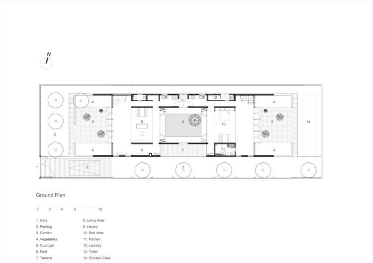 Long An House  Tropical Space插图2
