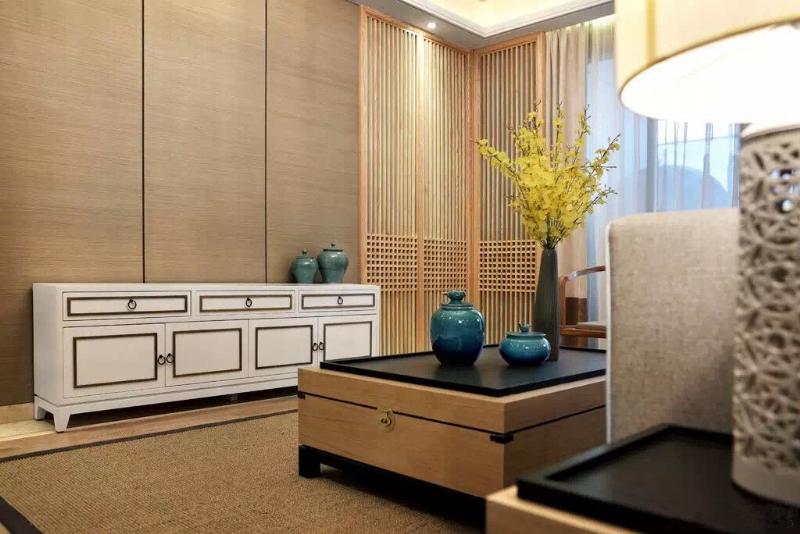 上海閔行區160平新中式風格傳達出如沐春風的舒展愜意插图3