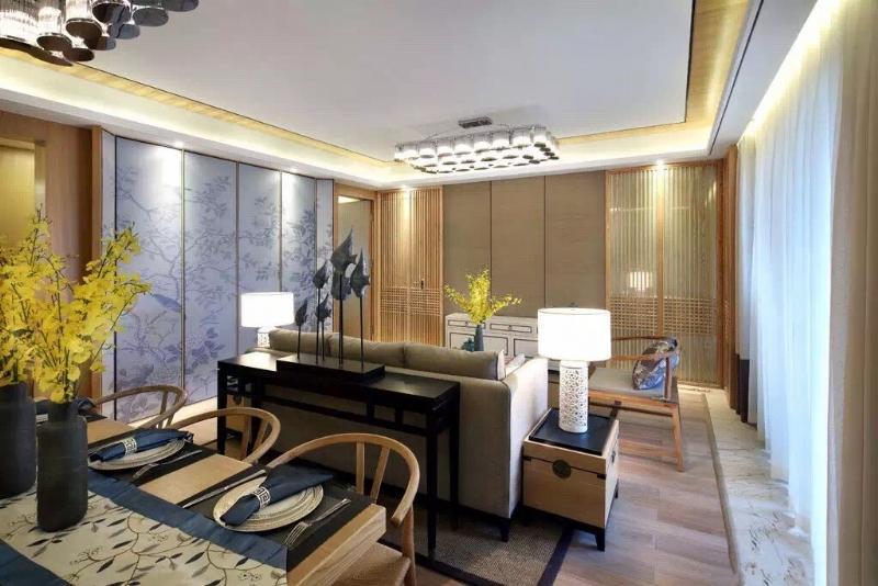 上海閔行區160平新中式風格傳達出如沐春風的舒展愜意插图5