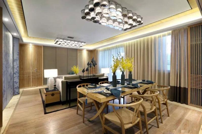 上海閔行區160平新中式風格傳達出如沐春風的舒展愜意插图4