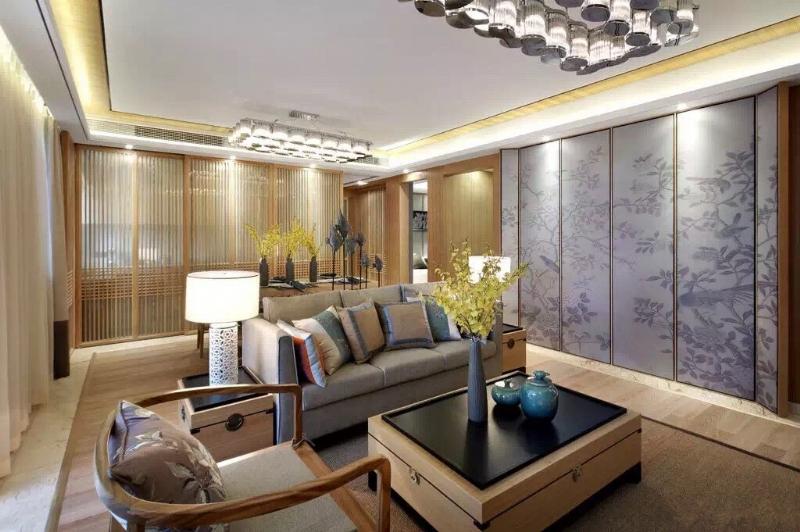 上海閔行區160平新中式風格傳達出如沐春風的舒展愜意插图1