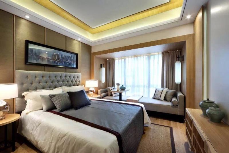 上海閔行區160平新中式風格傳達出如沐春風的舒展愜意插图