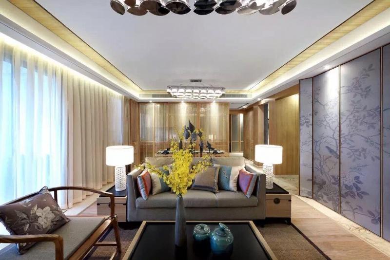 上海閔行區160平新中式風格傳達出如沐春風的舒展愜意插图2