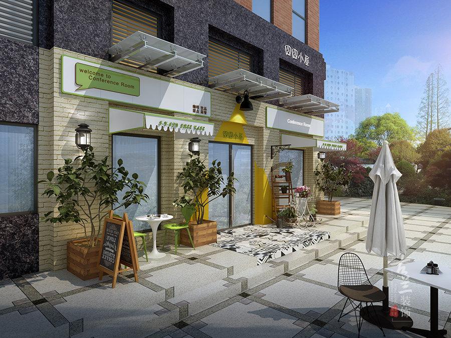 成都咖啡廳裝修設計花藝咖啡廳設計案例古蘭裝飾插图