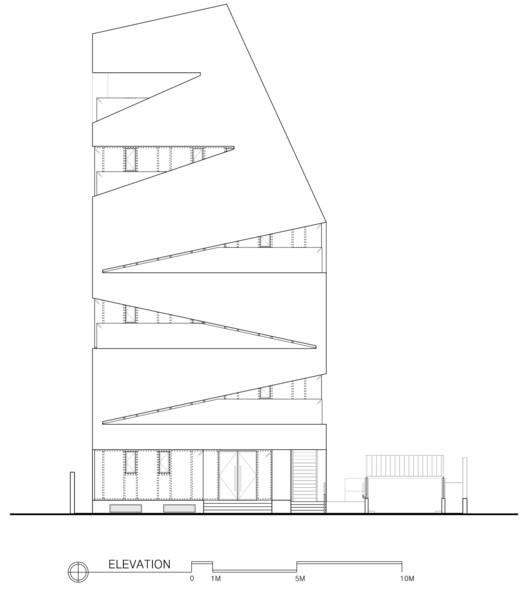 M.C. 大樓,被打開的建築盒子  URCODE Architecture插图2