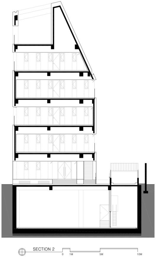 M.C. 大樓,被打開的建築盒子  URCODE Architecture插图3