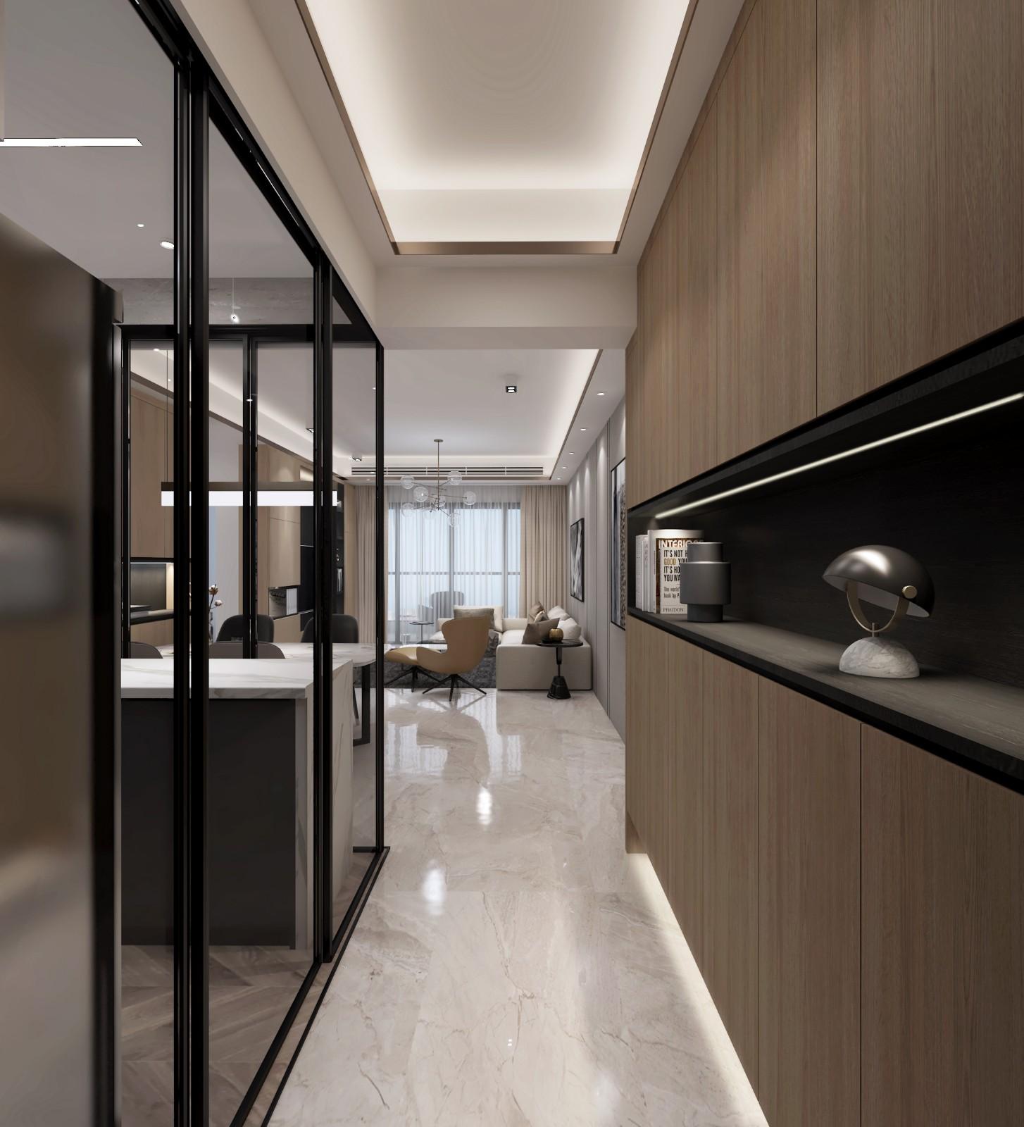 廣州 100m²混搭二居室  六品設計插图