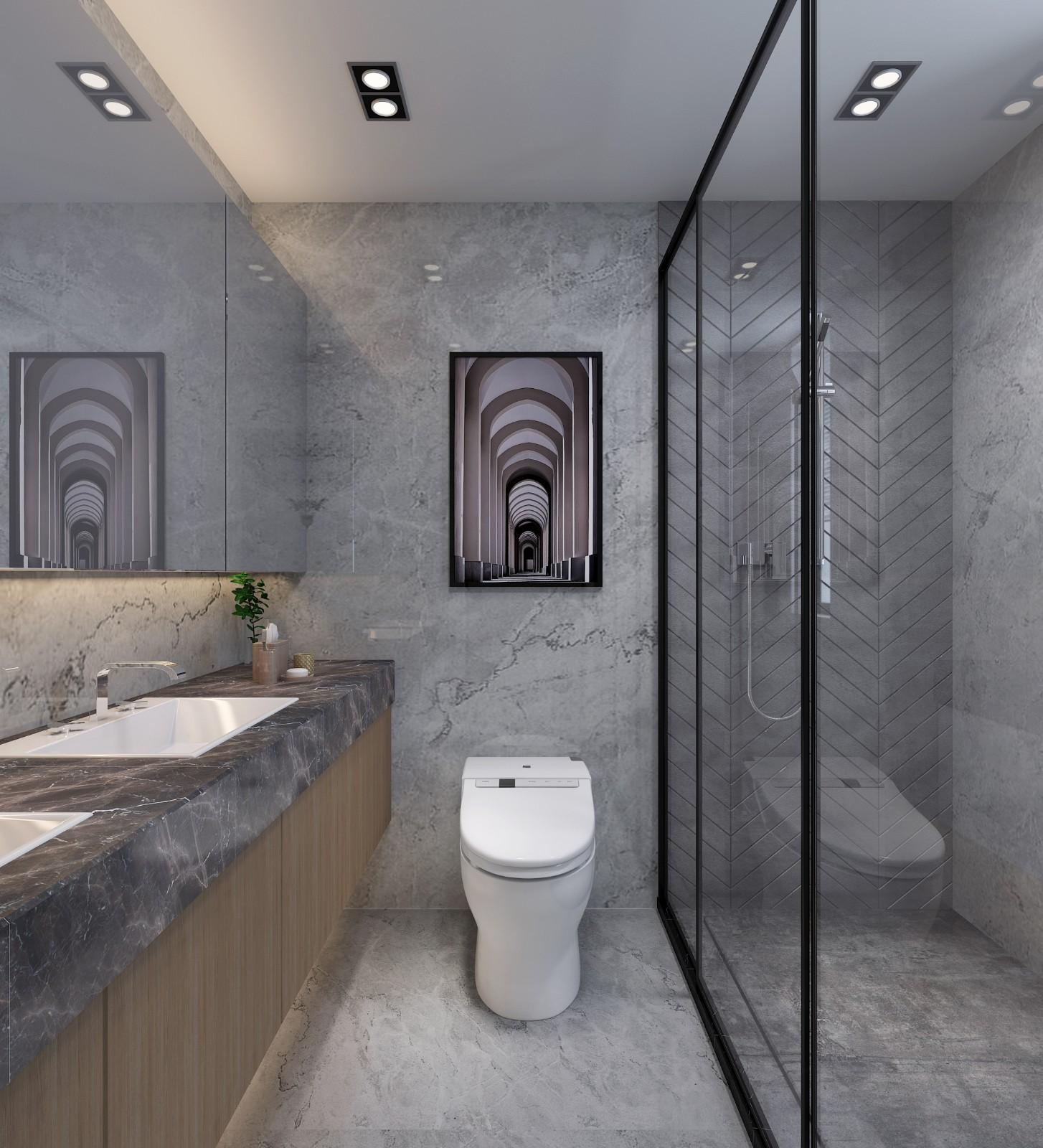 廣州 100m²混搭二居室  六品設計插图7