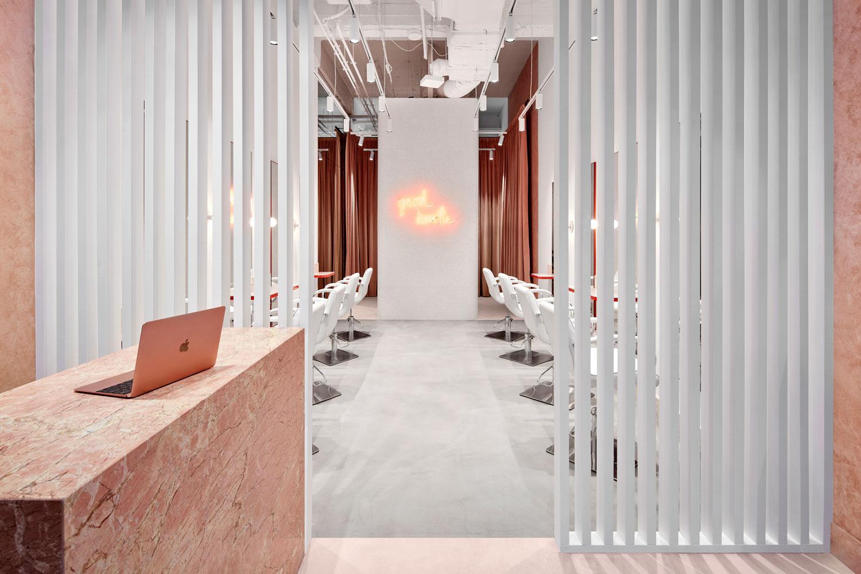 流動的粉色空間·墨爾本美發沙龍  TECTURE插图1