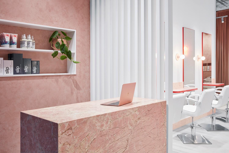 流動的粉色空間·墨爾本美發沙龍  TECTURE插图9