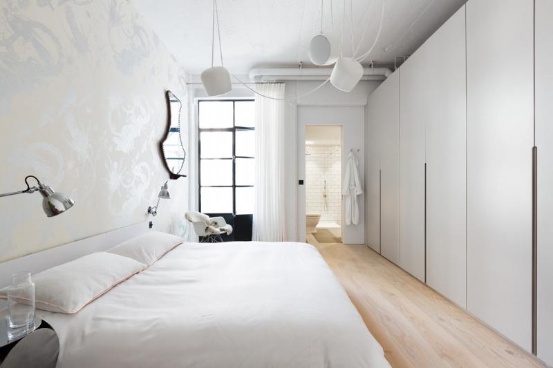 舊廠房改造簡約工業風格loft公寓插图9