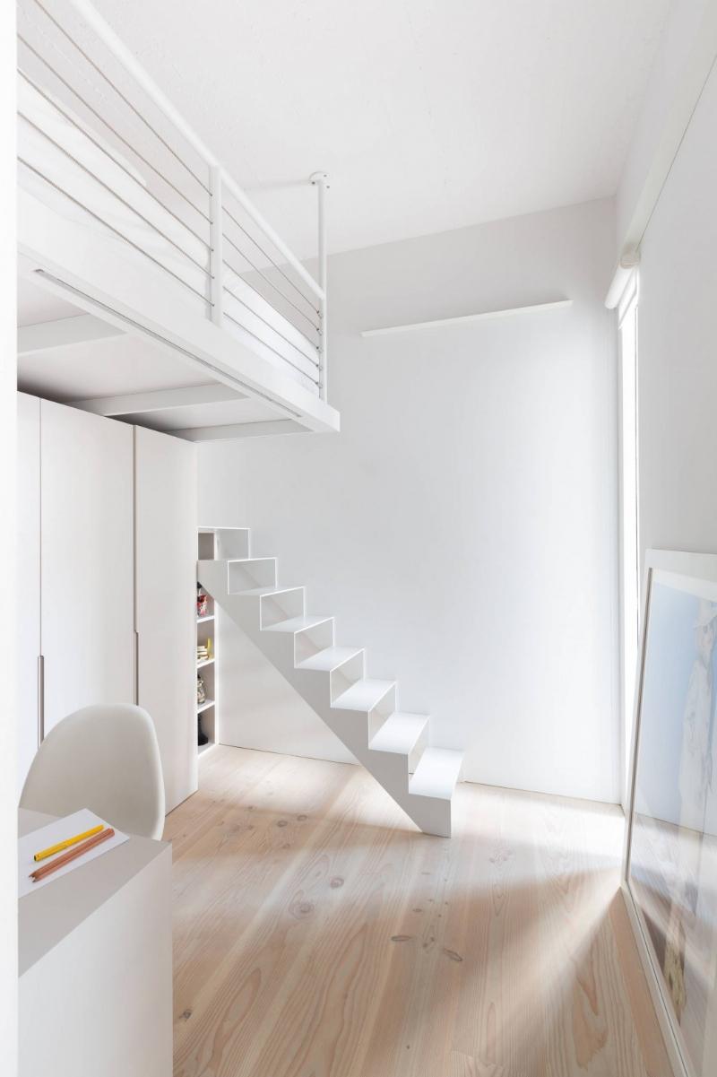 舊廠房改造簡約工業風格loft公寓插图11