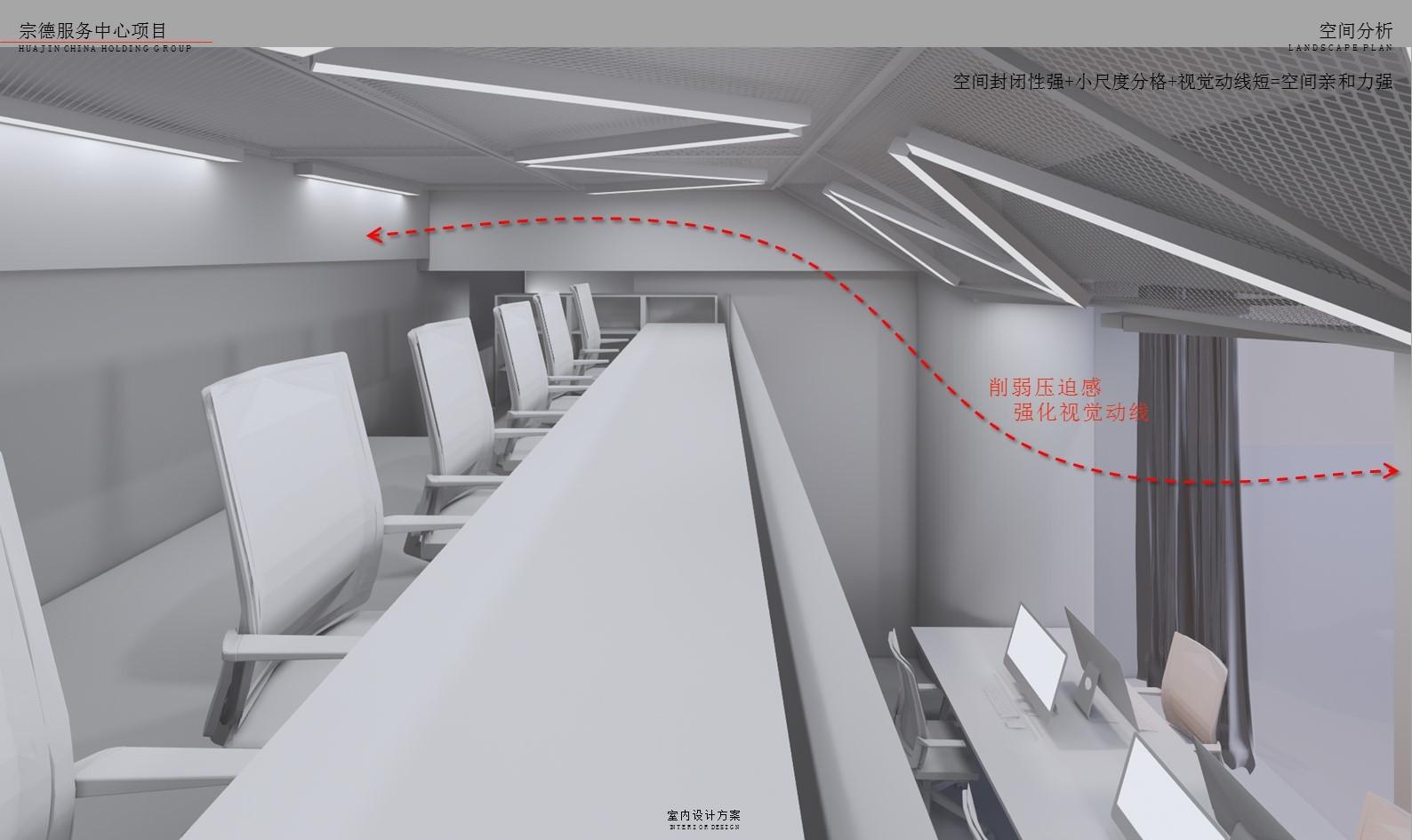 售樓部樣板間 軟裝改造插图(24)