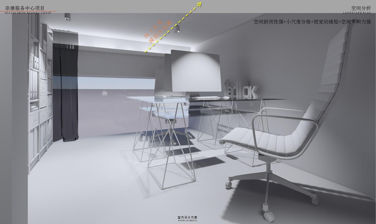售樓部樣板間 軟裝改造插图(26)