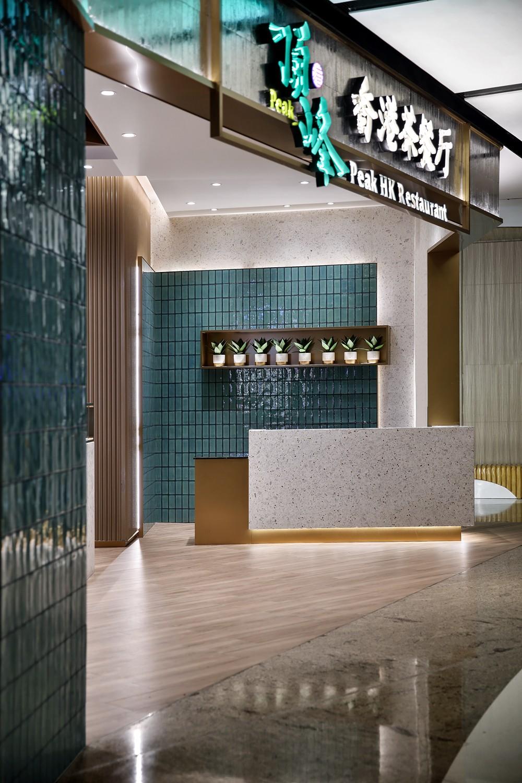 【藝鼎設計】惠州第一傢!簡約、精致、摩登的頂峰茶餐廳,愛瞭愛瞭插图2