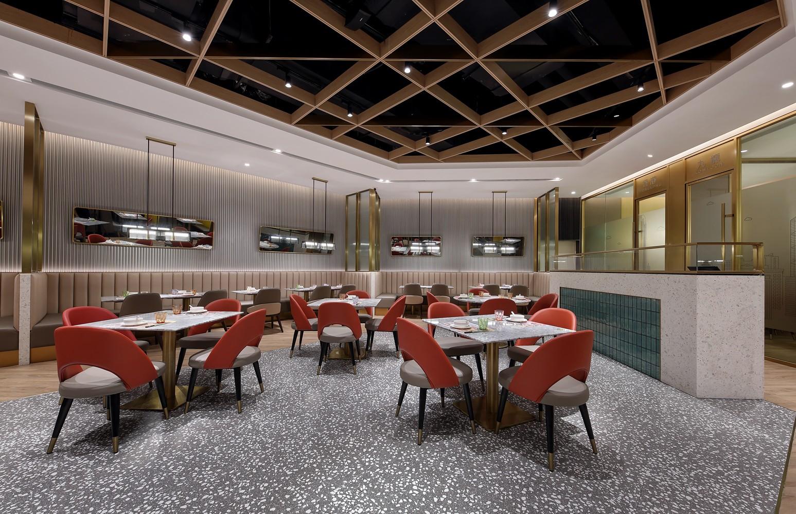 【藝鼎設計】惠州第一傢!簡約、精致、摩登的頂峰茶餐廳,愛瞭愛瞭插图10